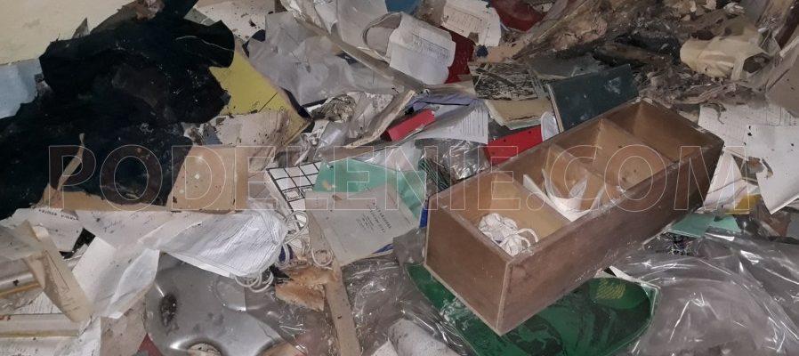 Разчистване на дворно място от боклуци Враца