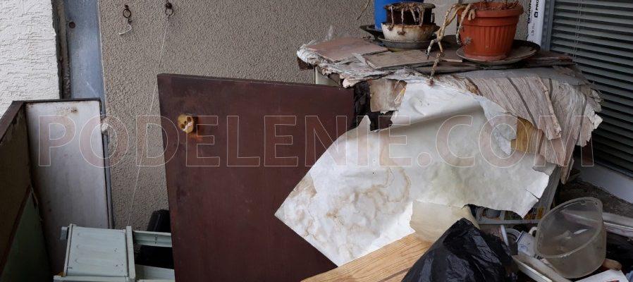 Поделение изхвърля с демонтаж гардероби Стара Загора