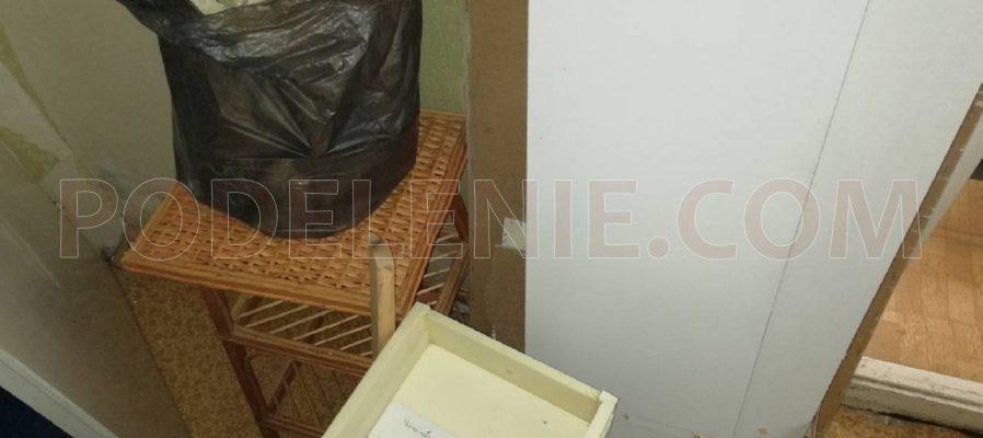 Екип хамали за изхвърляне на боклук Кюстендил